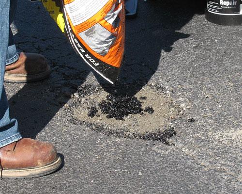 Qpr asphalt driveway repair and pothole filler: product review.