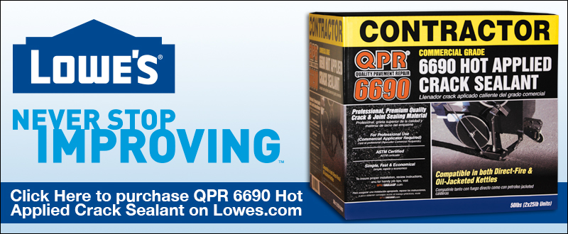 QPR 6690 - Hot Applied Crack Sealant | Quality Pavement